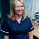 Photo of the nurse, Karen