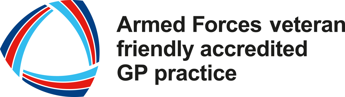 Armed Forces veteran friendly accredited GP practice